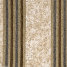 SAMPLE DESIGNER ITALIAN WINDSOR STRIPE CHENILLE FABRIC CREAM BROWN WEDGEWOOD