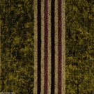 SAMPLE DESIGNER ITALIAN WINDSOR STRIPE CHENILLE FABRIC OLIVE GREEN AMBER