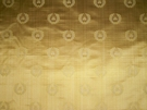 SAMPLE LEE JOFA NEOCLASSICAL BEE SILK DAMASK FABRIC 8 YARDS MAIZE