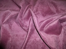 SAMPLE KOPLAVITCH MAXINE DISTRESSED VELVET FABRIC PLUM