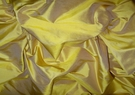 SAMPLE KOPLAVITCH SUNFLOWER GOLD PREMIUM SILK DUPIONI FABRIC GOLD/BRONZE