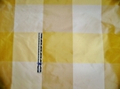 SAMPLE KRAVET GP J BAKER AUDREY SILK CHECK TAFFETA FABRIC