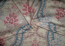 SAMPLE KRAVET LAURA ASHLEY FRENCH COUNTRY PORTICO FLORAL PRINT FABRIC 30 YARD CRYSTAL