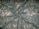 SAMPLE KRAVET LAURA ASHLEY FRENCH COUNTRY QUEENSWAY FABRIC 19.5 YARD BOLT PEWTER