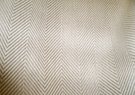 SAMPLE LEE JOFA HERRINGBONE LINEN FABRIC NATURAL