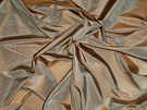 SAMPLE LEE JOFA KRAVET MORPHEUS IRIDESCENT CHESTNUT SILK TAFFETA FABRIC 30 YARD BOLT