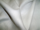 SAMPLE LEE JOFA LEA LINEN FABRIC WHITE