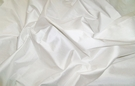 SAMPLE LEE JOFA PATRICIAN DOVE WHITE SILK  DUPIONI FABRIC