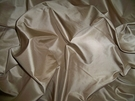 SAMPLE LEE JOFA SANDALWOOD SILK TAFFETA FABRIC