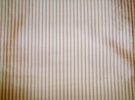 SAMPLE LEE JOFA THISTLE STRIPES SILK FABRIC ROSE CREAM