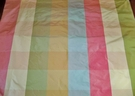 SAMPLE PASARI KATERINA SILK CHECK TAFFETA FABRIC 30 YD BOLT