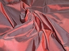 SAMPLE SCALAMANDRE SOTTO VOCE SILK TAFFETA MAGENTA
