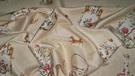 SAMPLE TRAVERS CUTHBERT HALL PORCELAIN VASES TUREENS TEAPOTS FABRIC 12 YARDS CREAM MULTI
