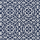 SCALAMADRE ANSHUN LATTICE FABRIC INDIGO