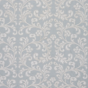 SCALAMADRE CHIARA EMBROIDERY SCROLLWORKS FABRIC SKY