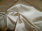 SCALAMANDRE ACADEMY SILK SATIN COTTON FABRIC BISQUE CREAM 30 YARD BOLT