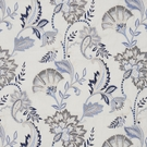 SCALAMANDRE ADARA EMBROIDERED FABRIC DELFT