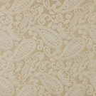 SCALAMANDRE ANGELIQUE PAISLEY SILK FABRIC IVORY - 5 YARD MINIMUM