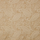 SCALAMANDRE ANGELIQUE PAISLEY SILK FABRIC TAN - 5 YARD MINIMUM