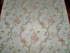 SCALAMANDRE APRILE SILK LAMPAS DAMASK FABRIC 5 YARD REMNANT COLONY COLLECTION MAGNOLIA