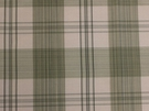SCALAMANDRE ASTOR SILK CHECK PLAID FABRIC CELADON