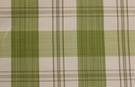 SCALAMANDRE ASTOR SILK CHECK PLAID FABRIC LEAF