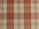 SCALAMANDRE ASTOR SILK CHECK PLAID FABRIC PEONY