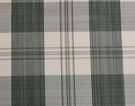 SCALAMANDRE ASTOR SILK CHECK PLAID FABRIC PINE