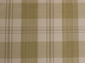 SCALAMANDRE ASTOR SILK CHECK PLAID FABRIC SAND