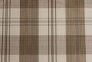 SCALAMANDRE ASTOR SILK CHECK PLAID FABRIC TAUPE