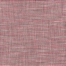 SCALAMANDRE BANBURY STRIE CHECK FABRIC RASPBERRY