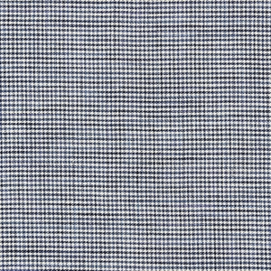 SCALAMANDRE BANBURY STRIE CHECK FABRIC INDIGO