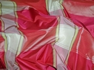 SCALAMANDRE BARANZELLI SHABBY ROSA LINDA CHECK PLAID SILK TAFFETA 16 YARDS ROSE