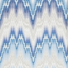 SCALAMANDRE BARGELLO JACQUARD COTTON FABRIC CERULEAN