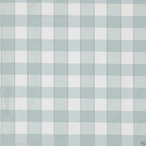 SCALAMANDRE CHELSEA SILK DOBBY CHECK FABRIC AQUAMARINE