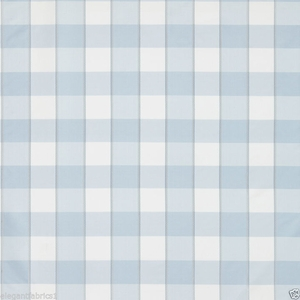 SCALAMANDRE CHELSEA SILK DOBBY CHECK FABRIC BLUE