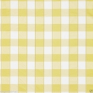SCALAMANDRE CHELSEA SILK DOBBY CHECK FABRIC CORNSILK YELLOW