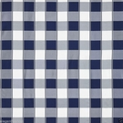 SCALAMANDRE CHELSEA SILK DOBBY CHECK FABRIC NAVY
