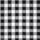SCALAMANDRE CHELSEA SILK DOBBY CHECK FABRIC ONYX BLACK