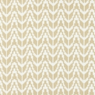 SCALAMANDRE CHEVRON EMBROIDERY FABRIC STRAW