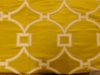 SCALAMANDRE CIRCLE FRET JACQUARD FABRIC FORSYTHIA