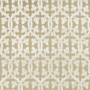 SCALAMANDRE FALK MANOR HOUSE FABRIC ALABASTER