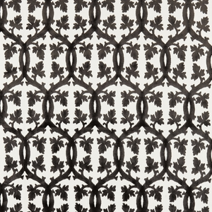 SCALAMANDRE FALK MANOR HOUSE FABRIC CARBON