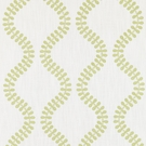 SCALAMANDRE FOGLIA EMBROIDERY FABRIC CELERY