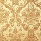 SCALAMANDRE GABRIEL SILK DAMASK FABRIC TAN