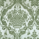 SCALAMANDRE GABRIEL SILK DAMASK FABRIC WINTER MINT