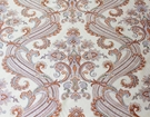 SCALAMANDRE HUDSON PAISLEY BELLE JARDIN COLLECTION FABRIC NEUTRAL