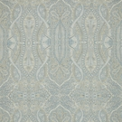 SCALAMANDRE INVERNESS PAISLEY FABRIC AEGEAN