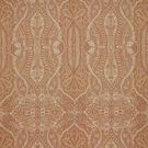 SCALAMANDRE INVERNESS PAISLEY FABRIC SPICE