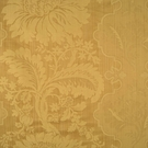 SCALAMANDRE KILFANE SILK DAMASK FABRIC GOLD